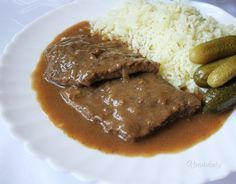 Often a friend asks me how I do it / Beef Recipes, Cooking Recipes, Healthy Recipes, Liver And Onions, Eastern European Recipes, Good Food, Yummy Food, Czech Recipes, Salty Foods