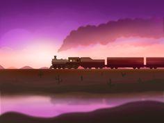 Train to the wonderland