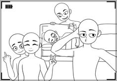 Draw the Squad Bases on Draw-The-Squad - DeviantArt