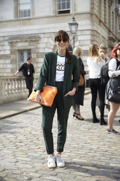 """fashion-clue: """"vogxed: """"asoslive: """" ASOS Personal Stylist Megan Ellaby at London Fashion Week, SS15 http://asos.to/1xUcX1N """" """" www.fashionclue.net   Fashion Tumblr, Street Wear & Outfits """""""