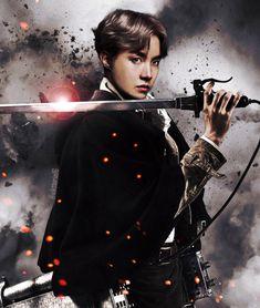 Image about kpop in ✨BTS-Edits✨ by Rubi on We Heart It Jimin, Hoseok Bts, Bts Bangtan Boy, Bts Jungkook, Taehyung, Bts Vampire, Jikook, Bts Anime, Fanart Bts