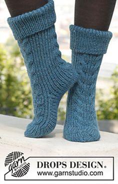 Ravelry:Stairway to Heaven Sock Pattern