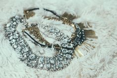 Holiday sparkles, plaid & baubles with Free People