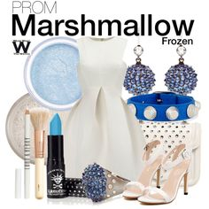 Frozen by wearwhatyouwatch on Polyvore featuring Alexander McQueen, Nam Cho, Balenciaga, H&M, Lord & Berry, disney, wearwhatyouwatch and film