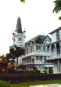 City Hall, Georgetown, Guyana - My mother-in-law, a key character in PATH to FREEDOM: My Story of Perseverance, worked here. www.tcfbusgroup.com