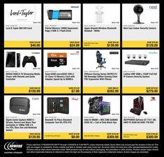 Friday News, New Egg, Black Friday Ads, Security Camera, Flash Drive, Coupons, Check, Backup Camera, Coupon