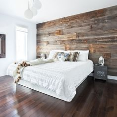 Bedroom Furniture, Furniture Design, Bedroom Decor, Reclaimed Wood Beds, Cute Room Ideas, King Headboard, Bed Sizes, Home Staging, Interior Decorating