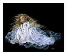 Angelic Love Painting - Akiane Kramarik