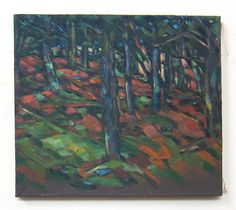 Catskill Landscape 16 x 14 Oil Painting by GreganPaintings on Etsy
