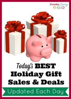 Best prices on holiday gifts plus sales and shopping tips. This page is updated daily with the best holiday gift sales and deals.