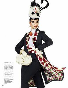 Crystal Renn Vogue Japan