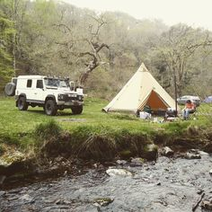 Weekend camping #tentipi #landroverdefender #landrover #defender110 #defender #exmoor by darlyb Weekend camping #tentipi #landroverdefender #landrover #defender110 #defender #exmoor