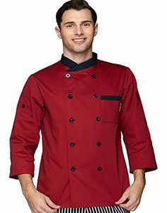 Homes Hold Chefs Apparel Red wine designer chefs jackets long sleeve chef uniforms Down to normal long sleeve,  No description (Barcode EAN = 0701473707143). http://www.comparestoreprices.co.uk/designer-coats-&-jackets/homes-hold-chefs-apparel-red-wine-designer-chefs-jackets-long-sleeve-chef-uniforms-down-to-normal-long-sleeve-.asp