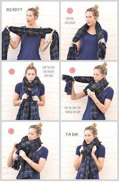 how to wear a blanke