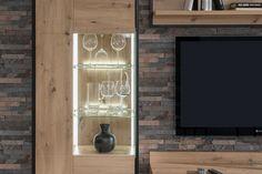 Obývačka COLONIA vo vyhotovení dub artisan Stencil, Flat Screen, Artisan, Neon Signs, Blood Plasma, Stenciled Table, Flatscreen, Craftsman, Stenciling