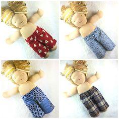 Waldorf Dolls, Girl Dolls, American Girl, Doll Clothes, Facebook, Pants, Handmade, Fashion, Moda