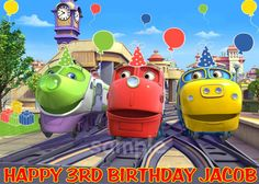 chuggington cupcakes Google Search Chuggington Birthday Ideas