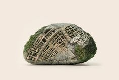 Portland-based artist and illustrator Song Kangcreates highly textural work, whether that's in her drawn explorations or sculptures produced from found and naturalmaterials. Her miniature works are dream-like environments and houses, many built on backs of animals like oxen and camels. Kang likes