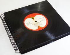 Fotoalben - XXL Fotoalbum Unikat aus Schallplatte  - ein Designerstück von Aurum bei DaWanda