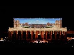 Infiorata di Noto 2016 Projection Mapping 3D