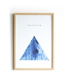 Mountain meditation graphic