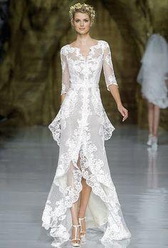Pronovias Wedding Dresses - Spring 2014 | Bridal Runway Shows | Wedding Dresses and Style | Brides.com | Brides.com