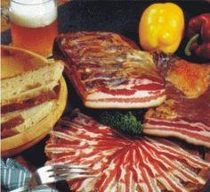 Koud gerookt spek Ginger Bug, Dutch Food, Camping Bbq, Tasty, Yummy Food, Dutch Recipes, Kefir, Kombucha, Barbecue