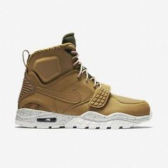 Nike Air Trainer SC 2 Boot Shoes Wheat-Dark Loden-Sail SZ 9 (805891-700) #Nike #AthleticSneakers