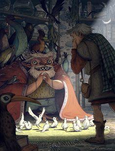 Matt Rockefeller - Illustration