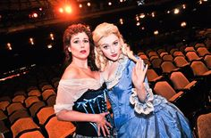 Two of my favorite Broadway leading ladies, Stephanie J. Block and Betsy Wolfe.