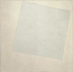 Kazimir Malevich, Suprematist Composition: White On White, 1918, Museum of Modern Art New York City