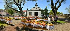 Holy Spirit (Espírito Santo) festivities at Bandeiras. This kind of bread, called Vésperas, is a delicacy. Pico, Azores islands, Portugal