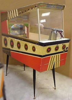 1960 Midway Shooting Gallery coin operated arcade gun rifle range game