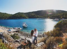 After this summer wedding in Ithaki, we've totally made up our minds. This Ionian island is the perfect scenery for a care free and simple but chic wedding. Summer Beach Party, Summer Wedding, Wedding Day, White Pebbles, Beautiful Islands, Chic Wedding, Getting Married, Real Weddings, Greece