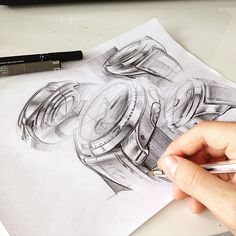 Doing some sketches at the office today @studiodivine