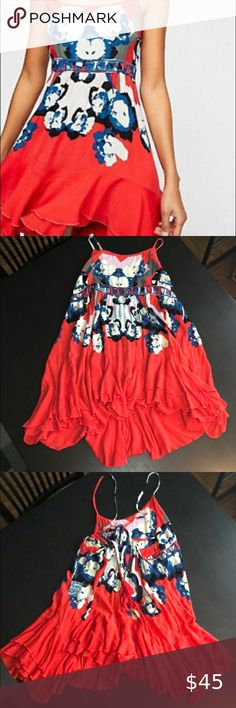 Free People Cherry Kiss Combo Dress Size S NWT Never worn Perfect condition  Size Small Free People Dresses Mini
