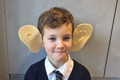 If you don't have a lot of time to whip up a costume for World Book Day, these BFG ears a fantastic quick make to become the friendliest giant of them all! All you need is some felt and a headband, then finish off the look with a shirt, green trousers and a waistcoat if you have them.