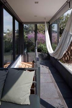 Vista de la cubierta. Casa de los Cuatro Patios por Andrés Stebelski. Fotografía © Onnis Luque.