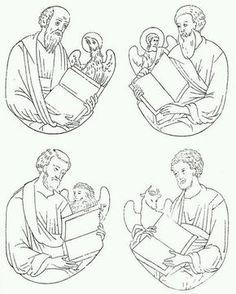 Photo Byzantine Icons, Byzantine Art, Christian Symbols, Christian Art, Religious Icons, Religious Art, Jesus Christ Drawing, Faith Symbol, Linear Art