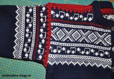 Strikkepiken – Montering av kofte med enkle stolper og i sydde armer Friendship Bracelets, Diy And Crafts, Blanket, Crochet, Fashion, Moda, Blankets, Fashion Styles, Knit Crochet