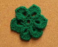 Crochet a Day 40! Green! #Crochet #Crochetmotif #DIY #Crafting #Etsyseller