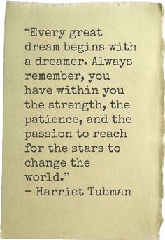 ~Harriet Tubman ❤