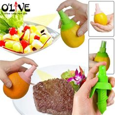 Creative Lemon Sprayer Manual Citrus Press Lemon Juicer Orange Mini Lime Squeezer