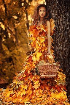 Fairy Leaf Dress