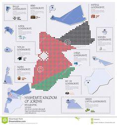 Kingdom of Jordan infographic - Google Search