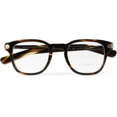 3599e503c5 Oliver Peoples 25th Anniversary Square-Frame Optical Glasses (€305) ❤ liked  on