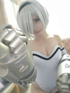NieR: Automata's photos Anime Cosplay, Cute Cosplay, Cosplay Outfits, Best Cosplay, Cosplay Girls, Cosplay Costumes, Awesome Cosplay, Maou Sama, Mileena