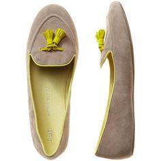 Gap Tassel Loafers ($50) ❤ liked on Polyvore
