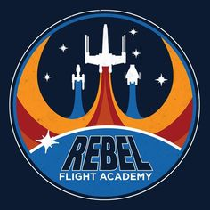 Star Wars Flight Patch Designs - Created by Josh KetchenDesigns available for sale as t-shirts at the artist's TeePublic Shop. Science Fiction, Star Wars Tattoo, Star Wars Wallpaper, Star Wars Fan Art, Rebel Alliance, Star War 3, Patch Design, Star Wars Poster, Retro Aesthetic