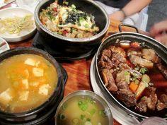 korean food! @ kunjib, NYC